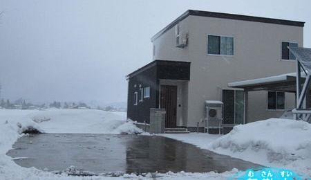 無散水融雪工事