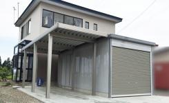 カーポート・ガレージ施工例