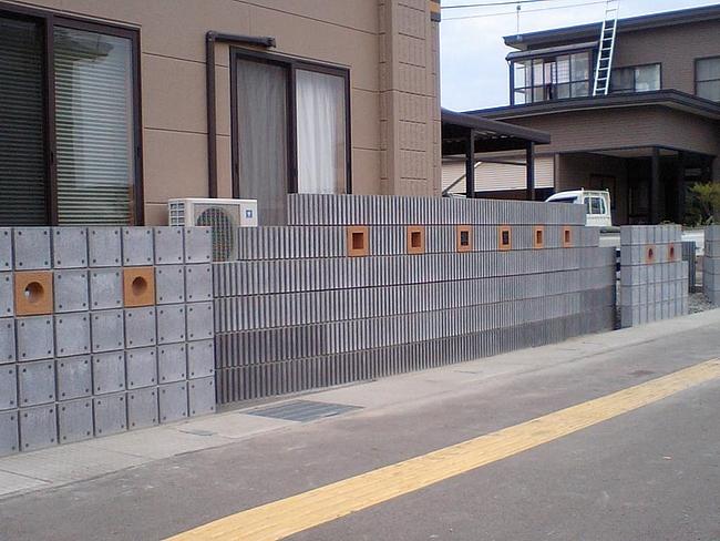 化粧ブロック塀