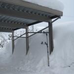 カーポートの冬対策