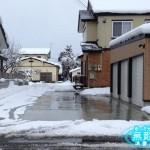 大仙市K様邸 外構工事 無散水消雪工事