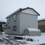 雪の状況 ~屋根融雪~
