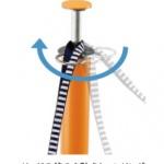 ターリング設計によりリードの絡まり防止