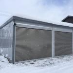 横手市T様邸 ガレージ設置工事