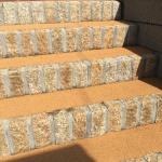 階段の舗装に