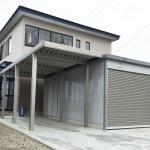 美郷町 A様邸 カーポート・ガレージ工事