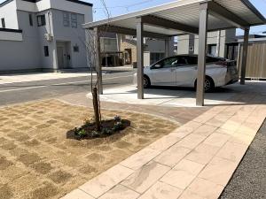 大仙市ガーデニング工事例