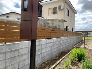 境界塀フェンス工事