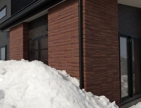 雪から窓を守るカコイード